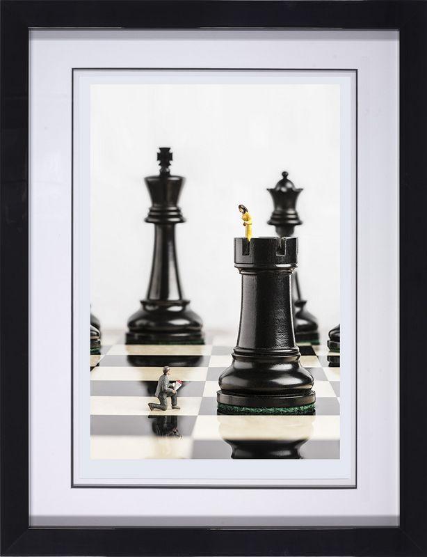Check Mate - Framed by Mr Kuu