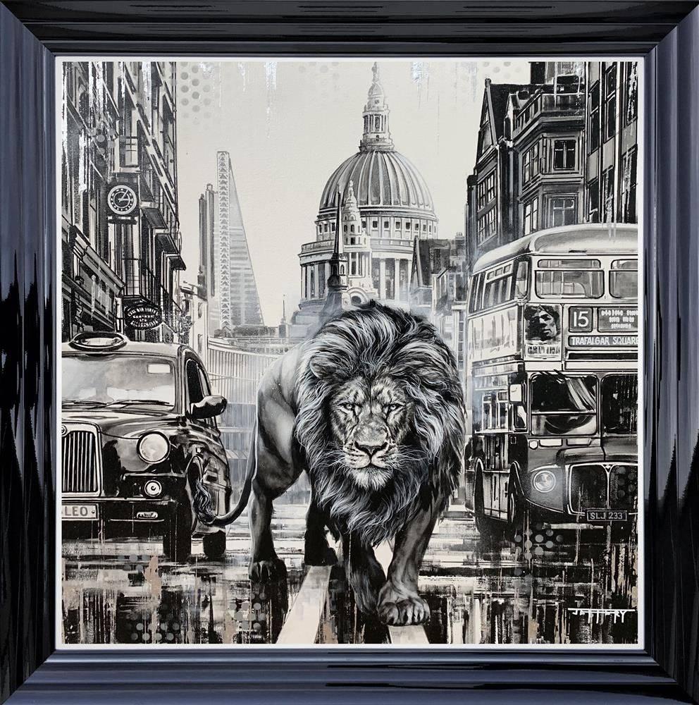 City Guardian - Black Framed - Board Only by Ben Jeffery