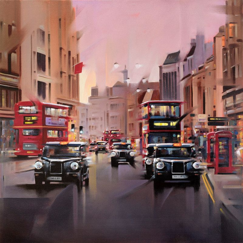 City Streets - Mounted by Neil Dawson
