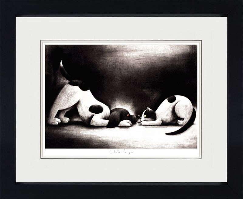 Close To You - Black Framed by Doug Hyde