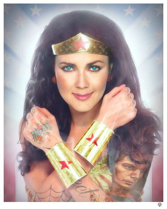 Wonder Woman (Colour) by JJ Adams