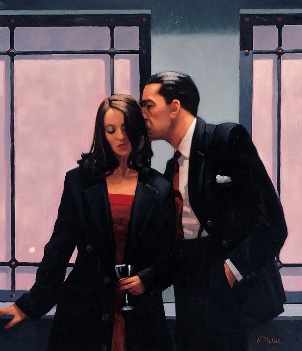 Contemplation of Betrayal - Framed by Jack Vettriano