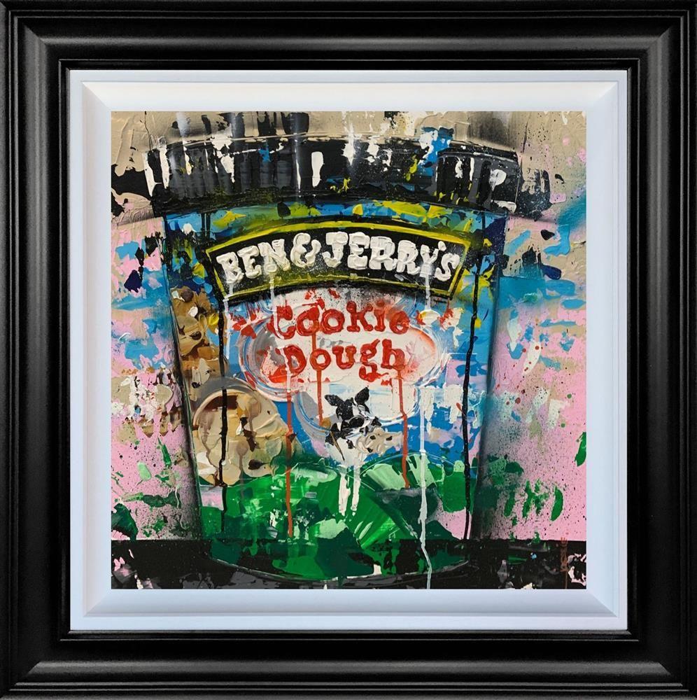 Cookie Dough - Original - Black Framed by Jessie Foakes