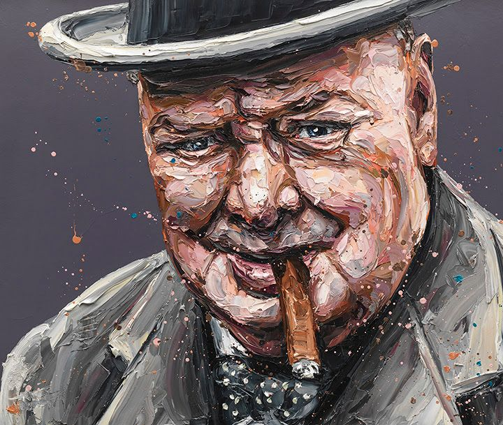 Courage Is A Decision (Winston Churchill) by Paul Oz