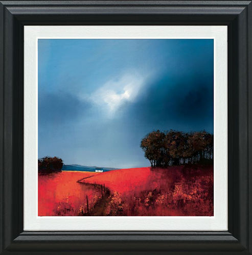 Crimson Fields Of Home - Framed by Barry Hilton