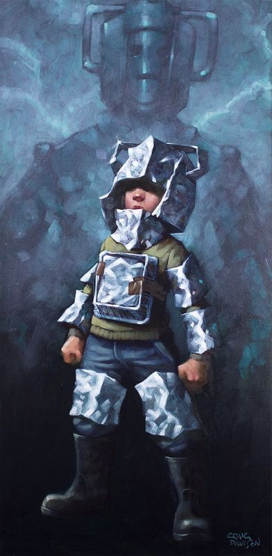 Cyberfan - Mounted by Craig Davison