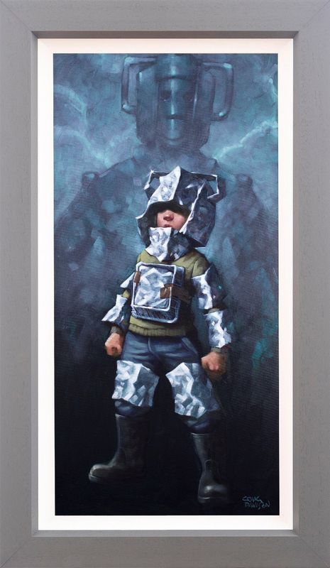Cyberfan - Canvas - Framed by Craig Davison