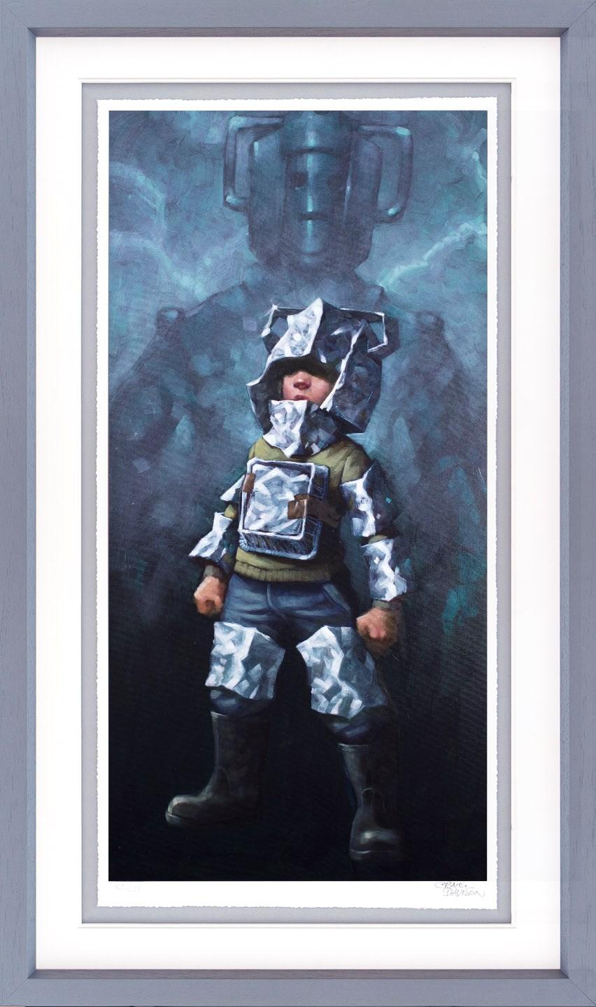 Cyberfan - Framed by Craig Davison