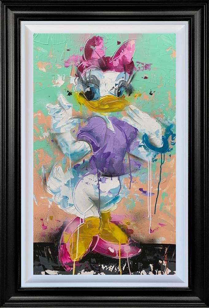 Daisy - Original - Black Framed by Jessie Foakes