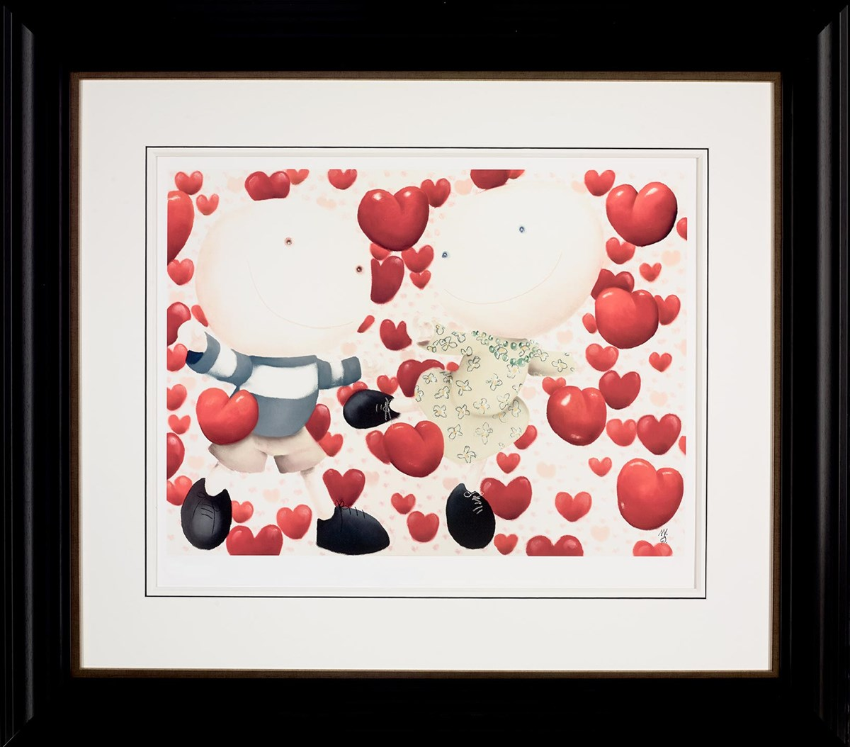 Dancing In Love - Framed by Mackenzie Thorpe