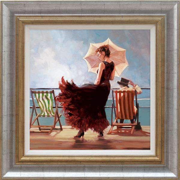 Dancing On The Deck - Framed by Mark Spain