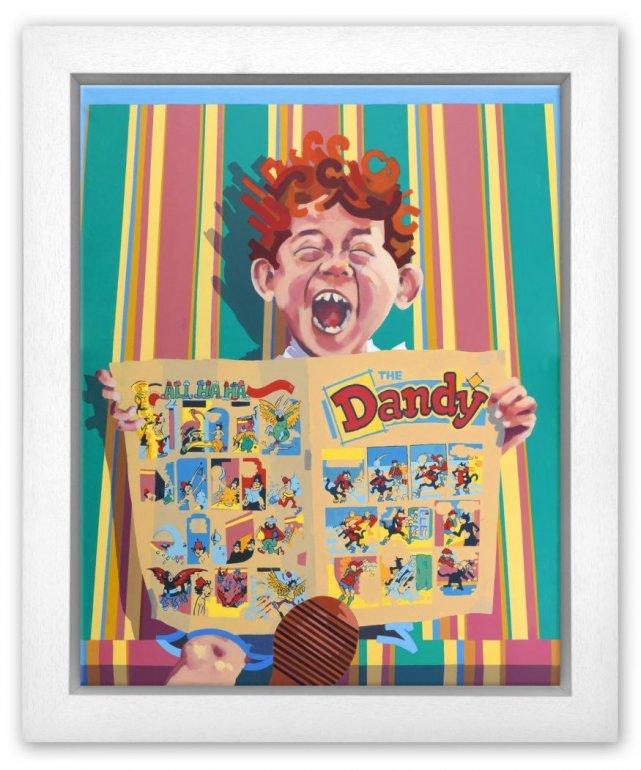 Dandy - Box Canvas - Framed Box Canvas by Frank Harwood