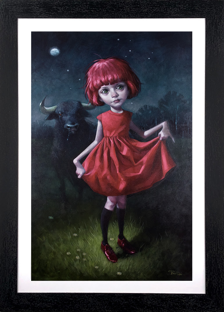 Dare - Canvas - Framed by Craig Davison