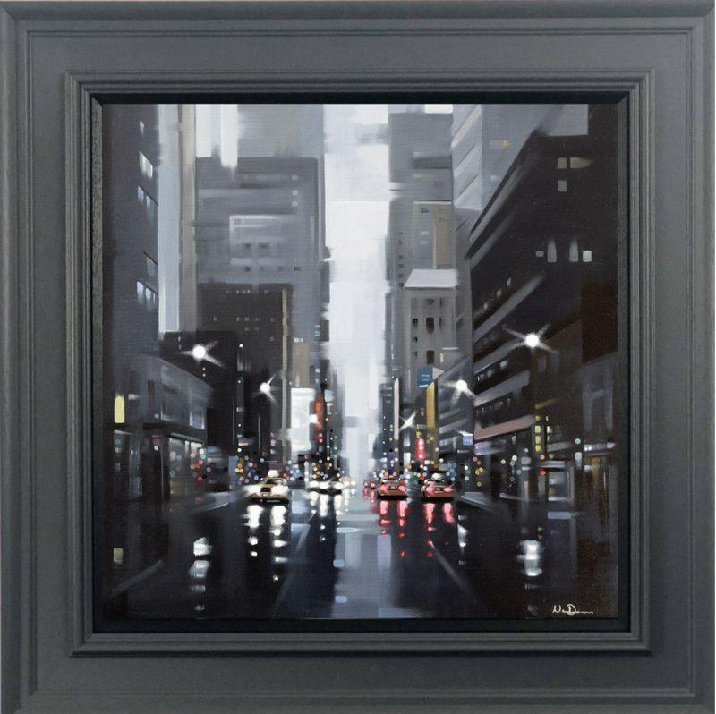 Dark Days - Canvas - Grey - Framed by Neil Dawson