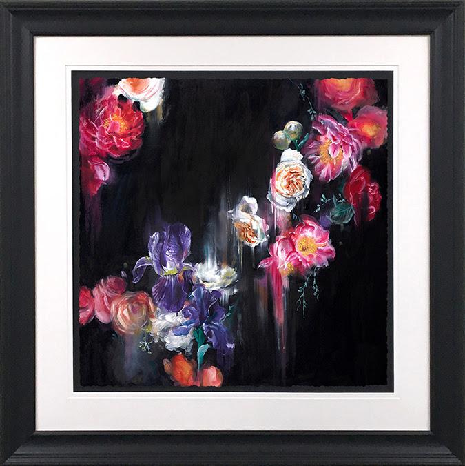 Dark Flora (Small) - Framed