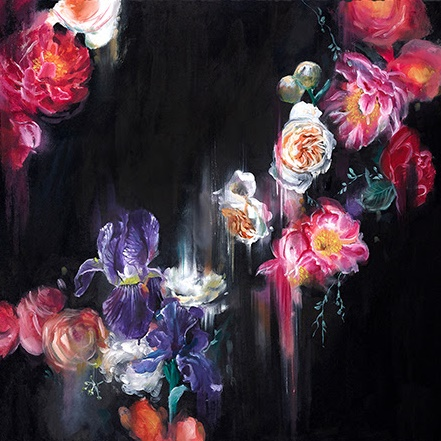 Dark Flora (Small) - Mounted