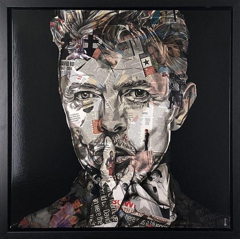 David Bowie Black - Original by Chess