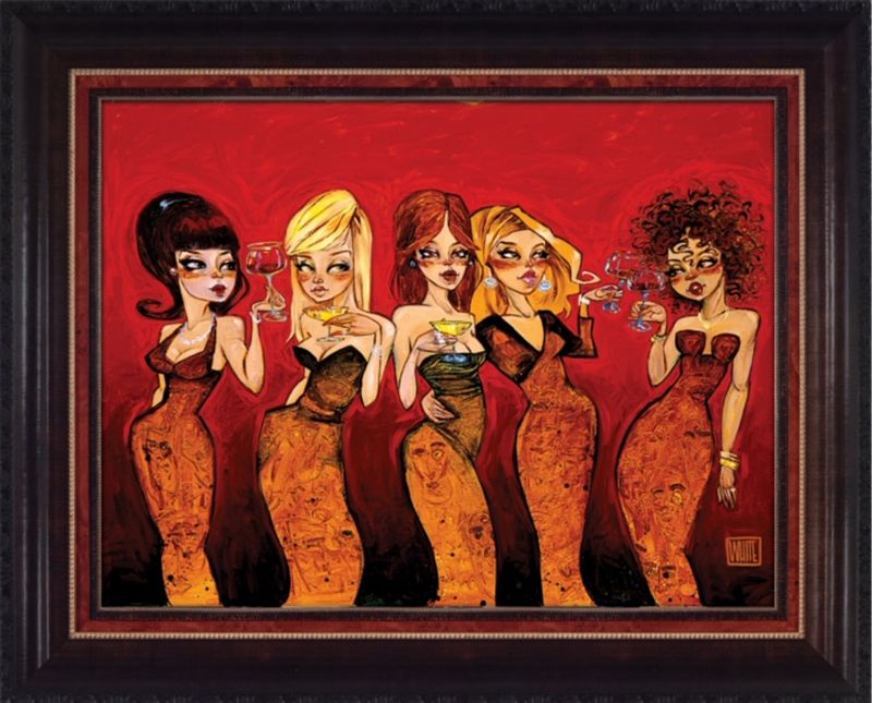 Devils In The Details  - Framed by Todd White