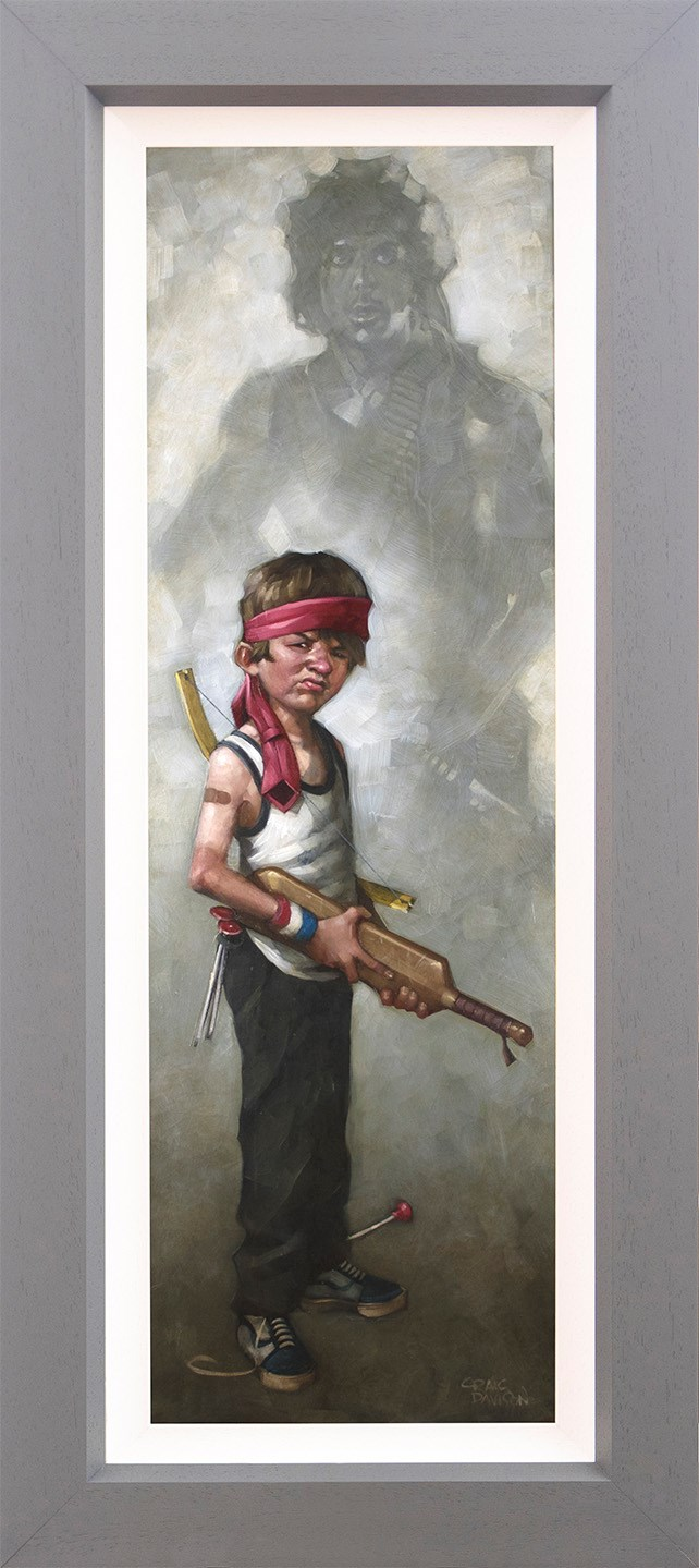 Don't Push It - Canvas - Framed by Craig Davison