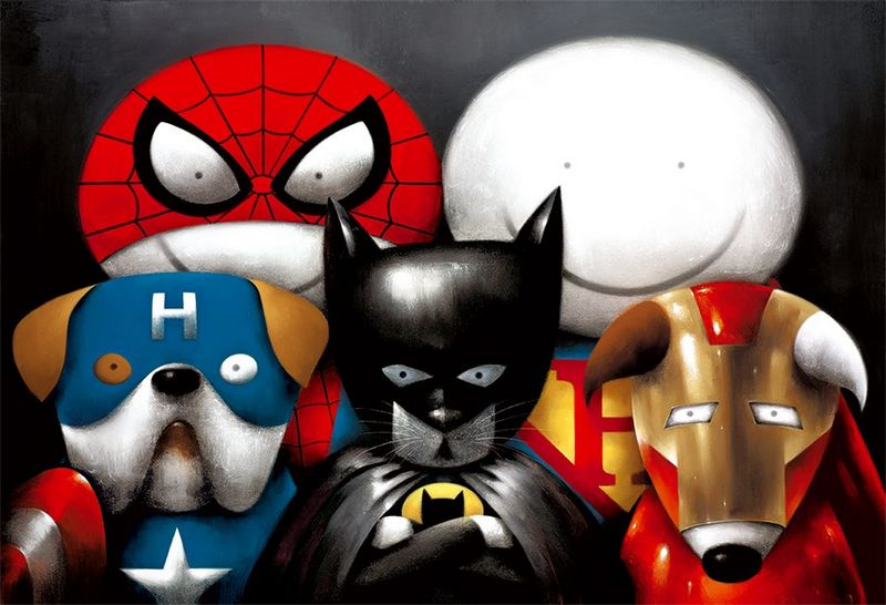 Dream Team! - Mounted by Doug Hyde