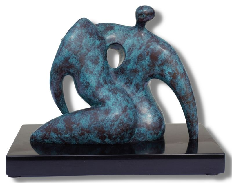 Duet - Bronze by Steven Lovatt