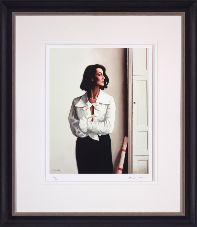 Edinburgh Afternoon - Framed by Jack Vettriano