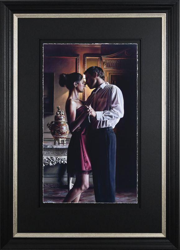 Elegance 106 - Artist Proof - Black - Framed by Rob Hefferan