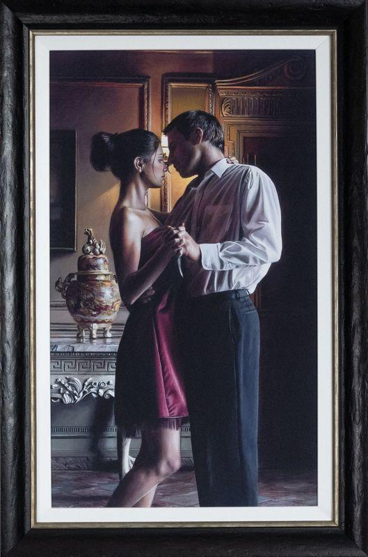 Elegance 106 - Canvas - Black - Framed by Rob Hefferan