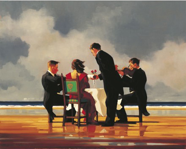 Elegy for a Dead Admiral (Large)  by Jack Vettriano