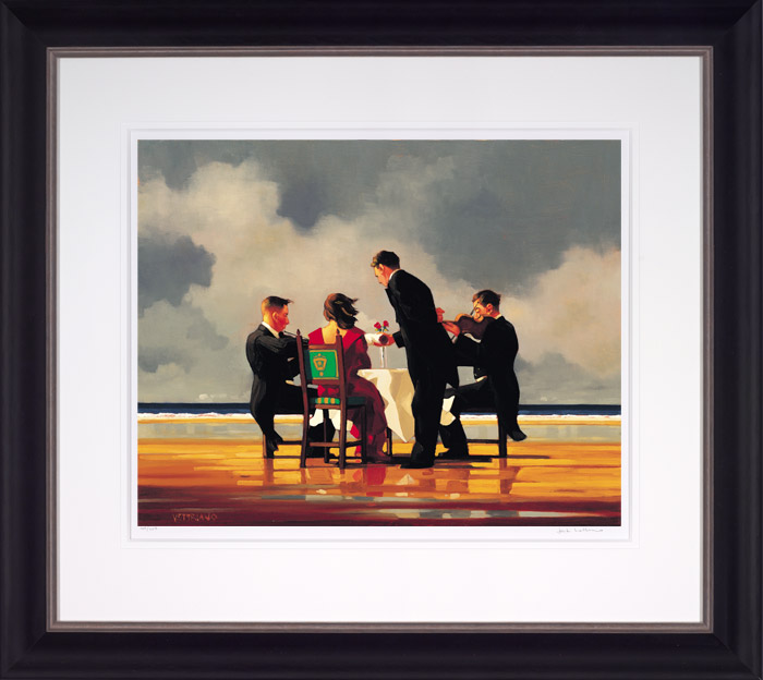 Elegy for a Dead Admiral (Small) - Framed by Jack Vettriano