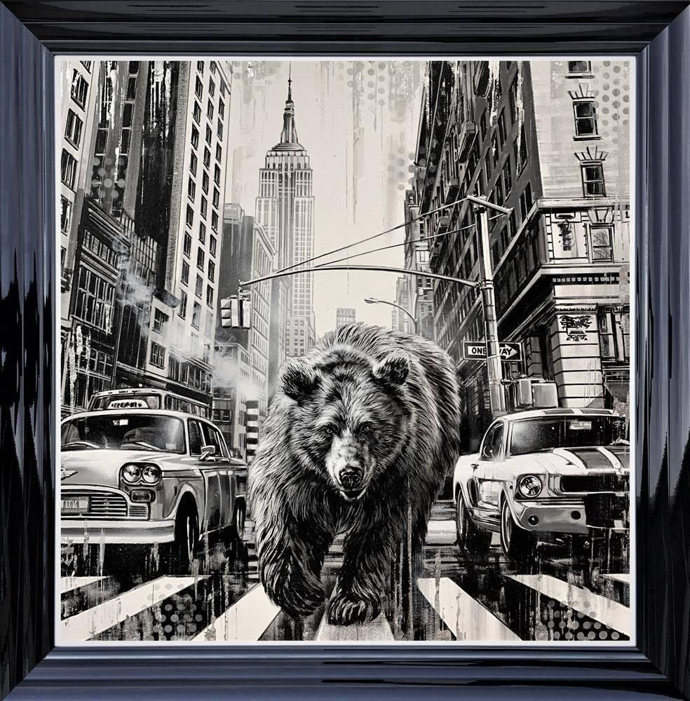 Endangered Empire - Black - Framed by Ben Jeffery