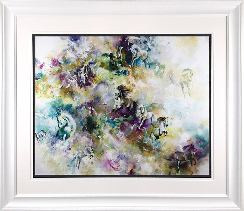Essence - In White - Framed by Katy Jade Dobson