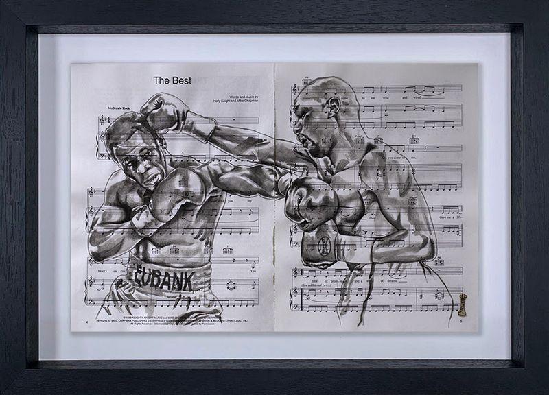 Eubank vs. Benn - Original - Black Framed by Chess