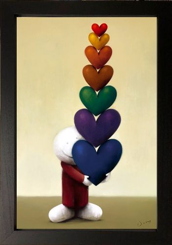 Every Kind Of Love - Black Framed by Doug Hyde