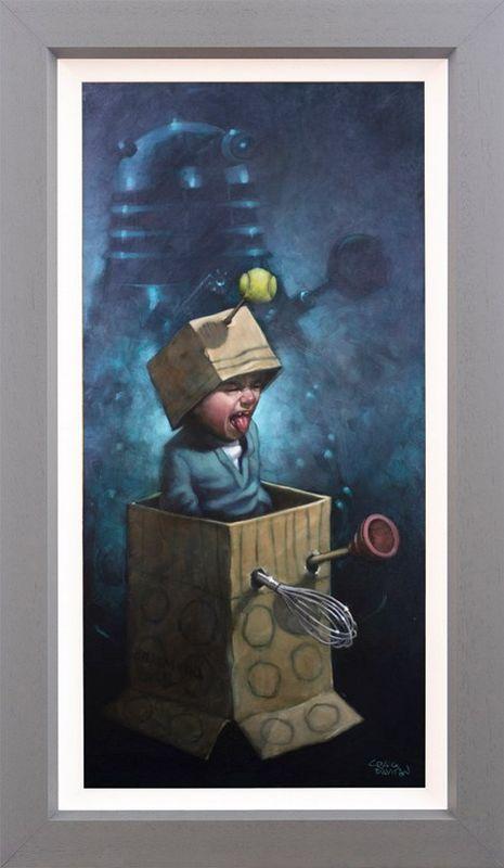 Ex-Ter-Mi-Nate!! - Canvas - Framed by Craig Davison
