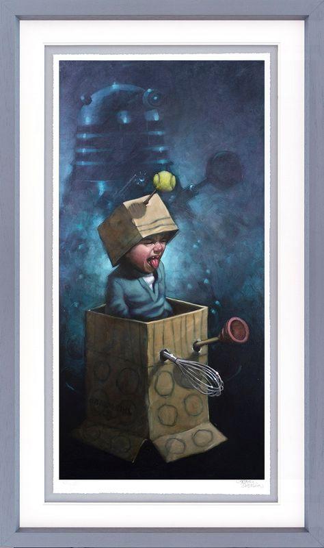 Ex-Ter-Mi-Nate!! - Framed by Craig Davison