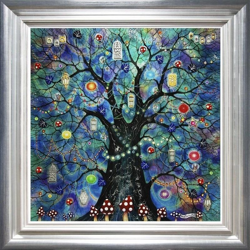 Fairy Lights - Framed by Kerry Darlington