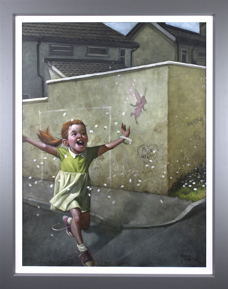 Faith, Trust & Pixie Dust - Canvas - Framed by Craig Davison