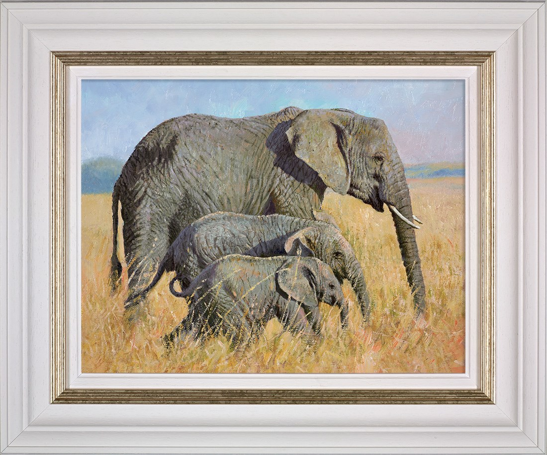 Family Outing - Framed by Tony Forrest