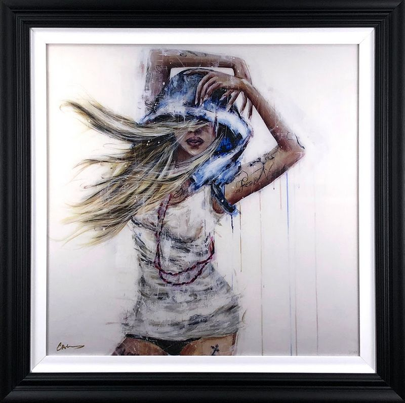 Fear Nothing - Black Framed by Carly Ashdown