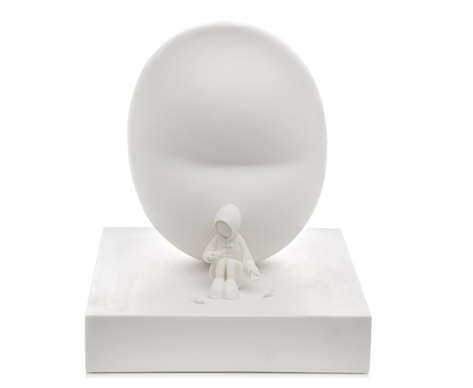 Feed The Birds - Sculpture  by Mackenzie Thorpe