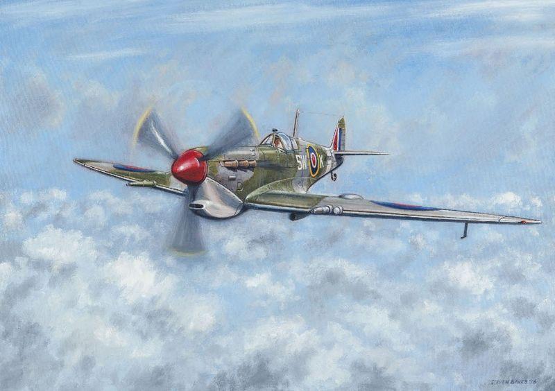 Final Patrol - Above The Clouds by Steven Binks