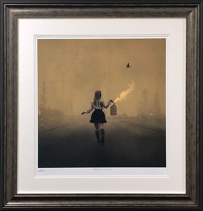 Finding Her Way Home - Framed by Michelle Mackie