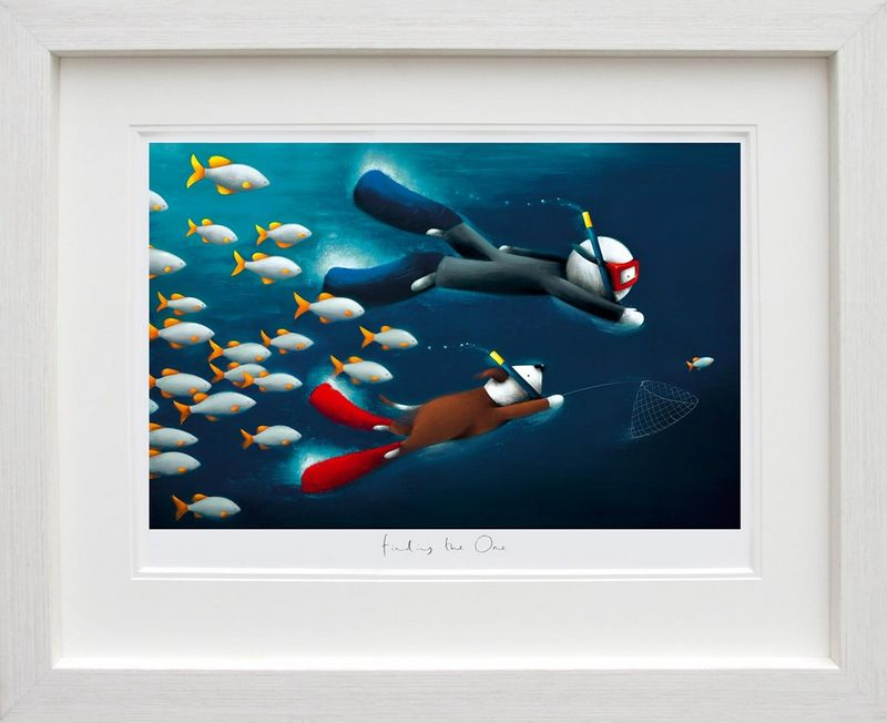 Finding The One - Framed by Doug Hyde