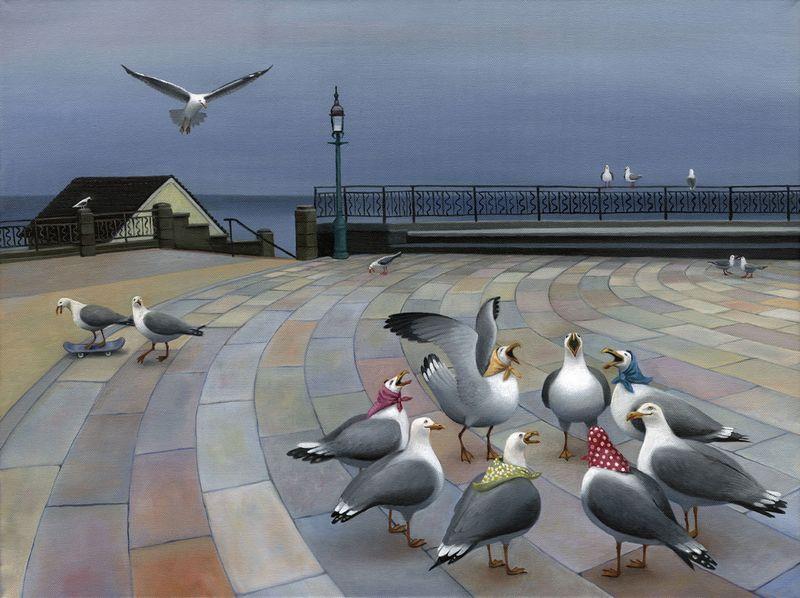 Fishwives by Sarah Jane Szikora