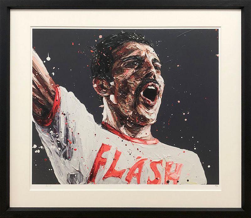 Flash - Framed by Paul Oz