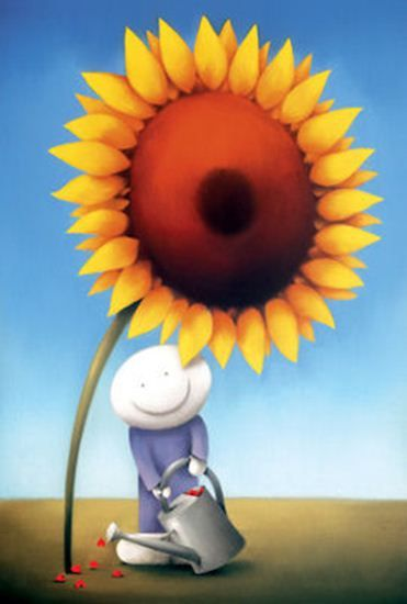 Flower Power - Mounted by Doug Hyde