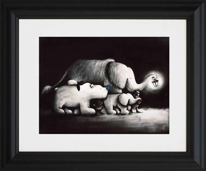 Follow Your Dreams - Framed by Doug Hyde
