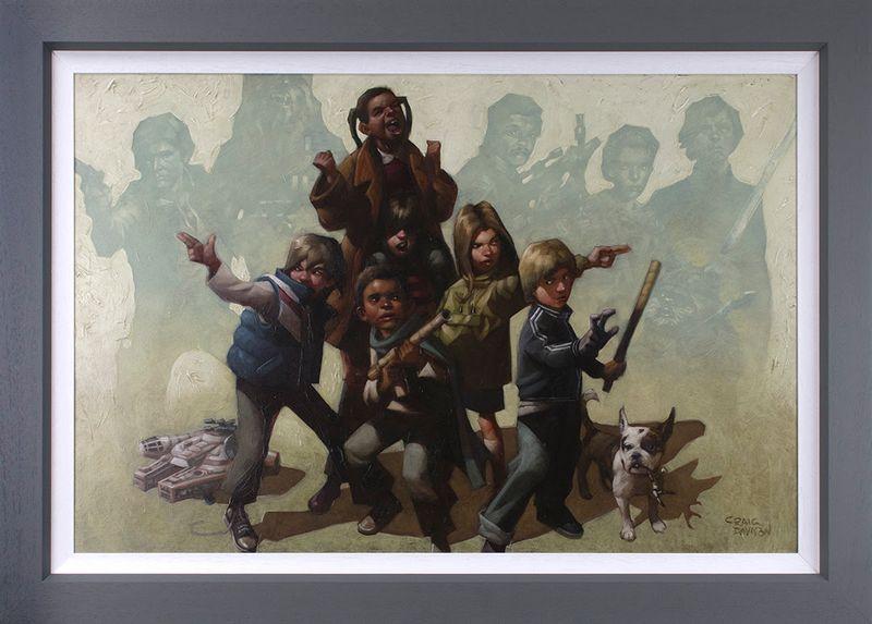 Force It - Canvas - Framed by Craig Davison