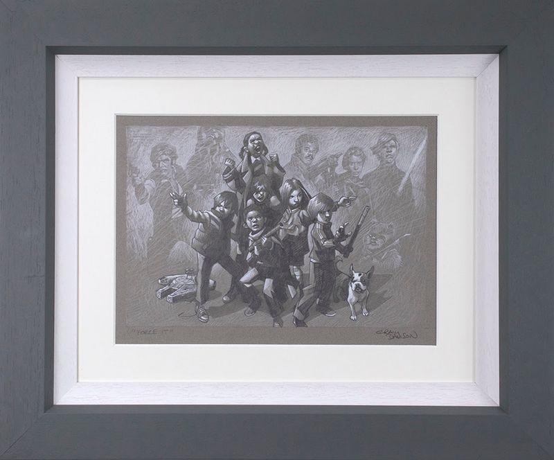 Force It - Sketch - Framed by Craig Davison